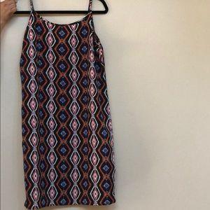 Tribal Print Dress M